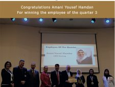 Employee of the quarter 3 award
