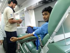 Mobile blood donation 2019